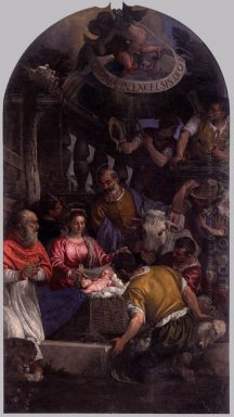Adoration Of The Shepherds 1583
