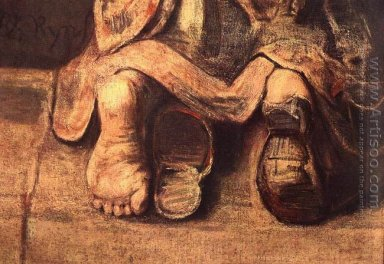The Return of the Prodigal Son (detail -4) c. 1669