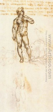 Study of David by Michelangelo
