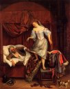 Couple In A Bedroom 1670