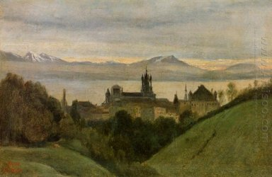 Between Lake Geneva And The Alps 1825