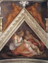 Ancestors of Christ - Zerubbabel with parents and a brother