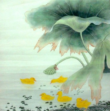 Lotus&Duck - Chinese Painting