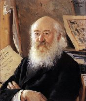 A Portrait Of Dmitry Rovinsky 1894