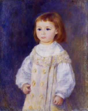 Child In A White Dress Lucie Berard 1883
