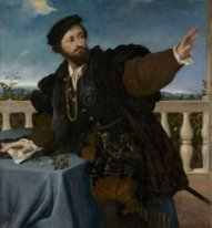 A Nobleman On A Balcony 1525
