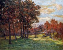 Autumn Landscape At Goulazon 1900