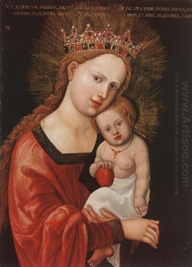 mary with the child 1525