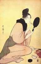 Courtesan Applying Lip Rouge