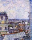 View From Vincent S Room In The Rue Lepic 1887