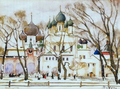 The Cathederal In Rostov The Great 1906