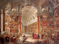 Interior of a Picture Gallery with the Collection of Cardinal Si
