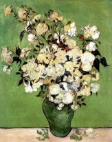 A Vase Of Roses 1890