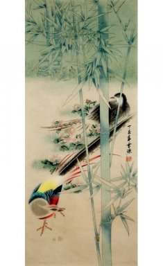 Birds-Bamboo - Chinese Painting