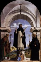 St. Peter Martyr with St. Nicholas of Bari, St. Benedict and an