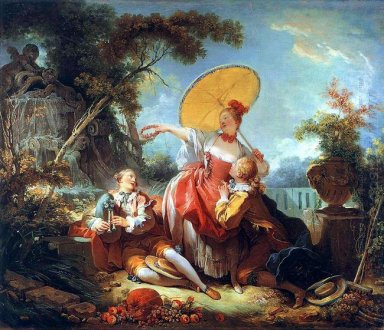 The Musical Contest 1755