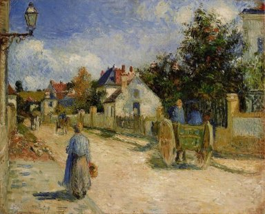 a street in pontoise 1879