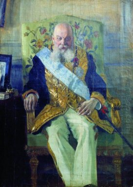 Portrait Of D M Solsky 1908