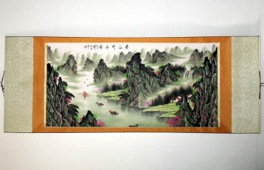Landscape - Mounted - Chinese Painting
