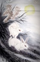 Rabbit - Chinese Painting