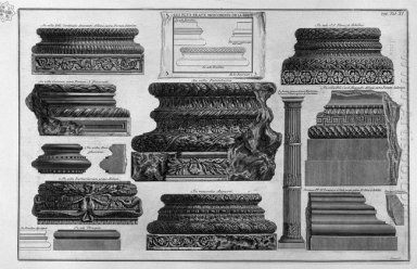 Various Bases And A Stem Of Columns