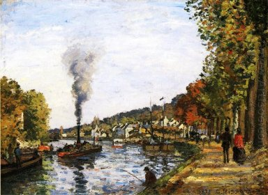 the seine at marly 1871