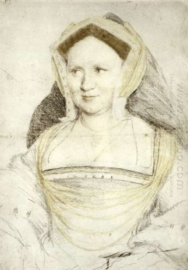 Portrait Of Lady Mary Guildford 1527