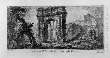 Arch Of Augustus Manufactured By Rimini