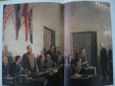The Signing Of The Act Of Unconditional Surrender Of Germany 194