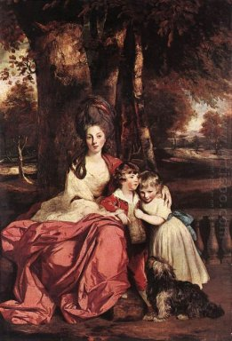 Lady Delm And Her Children 1780