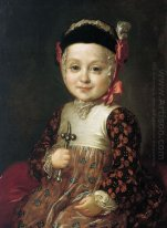 Portrait of Count Alexey Bobrinsky as a Child