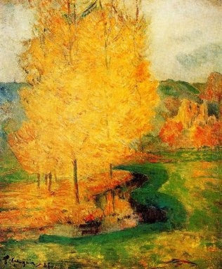 by the stream autumn 1885