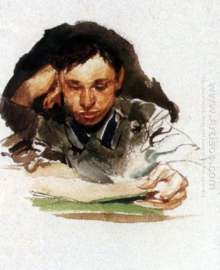 Portrait Of Student 1882