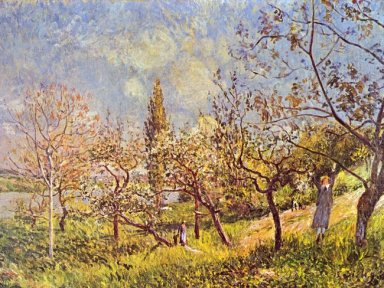 orchard in spring 1881