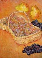 Basket Of Graphes Quinces And Pears 1885