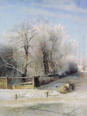 winter landscape moscow 1873