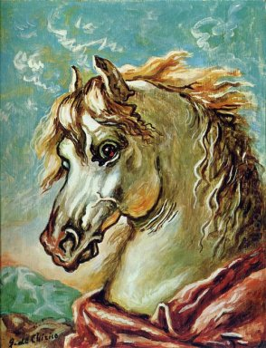 White Horse S Head With Mane In The Wind