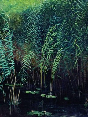 Reeds And Water Lilies 1889