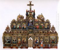 The Maniava Hermitage iconostasis