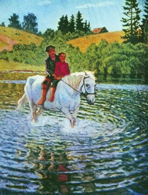 Children On A Horse