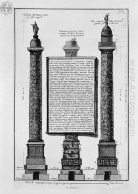 The Antonine Column Originally At The Time Of Sixtus V And After