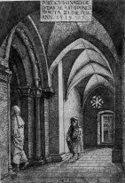 the entrance hall of the regensburg synagogue 1519