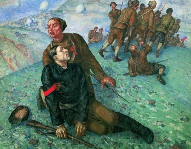 Death Of Commissar 1928