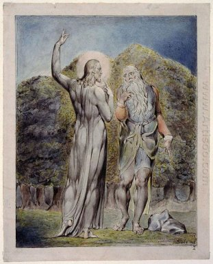 Christ Tempted By Satan To Turn The Stones To Bread 1819