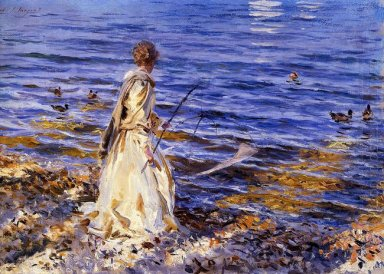 Girl Fishing 1913