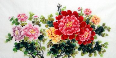 Peony-For feet - Chinese Painting