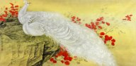 Peacock-Sideways - Chinese Painting