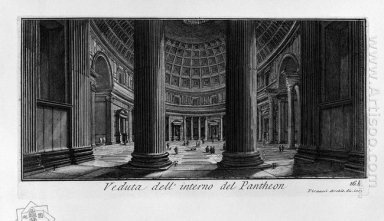The Roman Antiquities T 1 Plate Xv Pantheon 1756