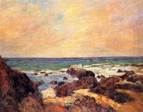 rocks and sea 1886