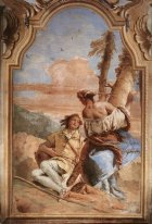 Angelica Carving Medoro S Name On A Tree 1757